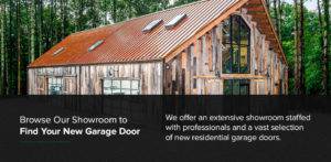 Browse Our Showroom to Find Your New Garage Door